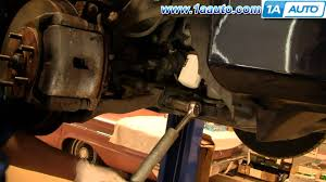 how to install replace lower suspension control arm honda odyssey