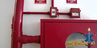 Preferidos Ligação botoeira de incêndio, esquemas elétricos &DX14