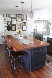 wood top kitchen island best 25 butcher block island top ideas on wood