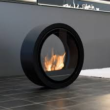 conmoto roll bio ethanol fire black fireplace products