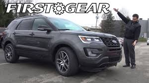 review ford explorer sport gear 2017 ford explorer sport review and test drive