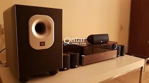 harman kardon home theater system harman kardon 5 1 av receiver avr 158 with jbl speakers for sale