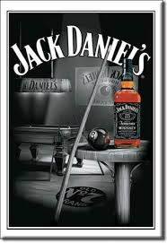 large metal plate jack daniels man cave pool table jack
