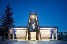 stella architect stained glass print in a churche in australia