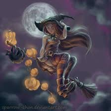 halloween witch by sparrow chan on deviantart interesting