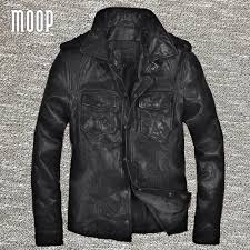 genuine leather motorcycle jacket leather motorcycle jacket black mens promotion shop for
