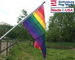 Usa Rainbow Flag Original Rainbow Flag Pride Flags Awareness Flags Flags