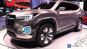 subaru concept cars 2018 subaru viziv 7 suv concept exterior walkaround 2017