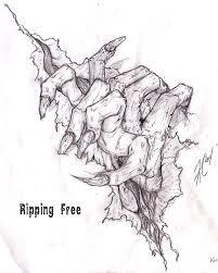 tat ripping free by kashiechan on deviantart