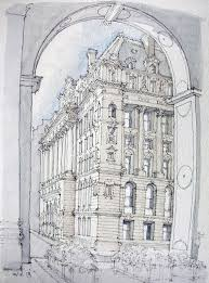 surrogate court building drawing designs architecture drawings