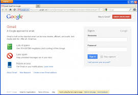 Gmail Sign Up Gmail Sign In Process Sign In Pages