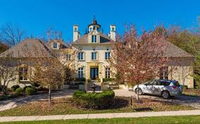 spirit halloween kansas city 1 09 million parkville mansion has french touches a copper eagle