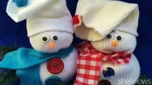 Diy Sock Snowman How To Make A Cute Sock Snowman In Just A Few Simple Steps