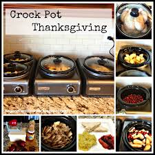 anyone can decorate crock pot thanksgiving made simple