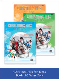 preview christmas hits for teens 1 3 value pack by dan coates