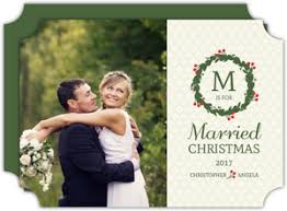 married christmas cards cheap vintage christmas cards invite shop