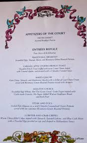 Blue Table Menu Cinderella U0027s Royal Table The Disney Food Blog Part 3