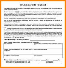 police report template sample police report template 13 free word