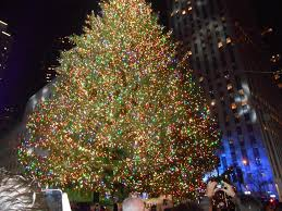 tree lighting nyc picture inspirations new
