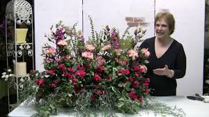 how to make a windowbox arrangement with silk flowers youtube