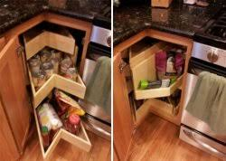 Kitchen Blind Corner Solutions Kitchen Shelves Shelfgenie Of Omaha Lincoln U0026 Des Moines