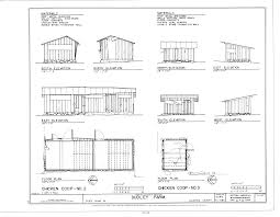 Floor Plan With Elevation by File Chicken Coop No 2 And No 3 Elevations And Floor Plans