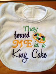 mardi gras baby clothes mardi gras baby bib with saying they found me in a king cake