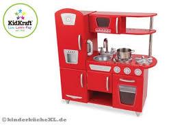 kinderküche kidkraft kidkraft rote vintage küche kinderkuchexl de