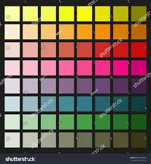 colored palette designvector color tone background stock vector