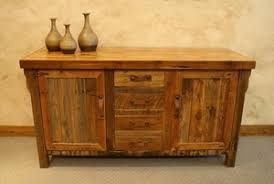 buffets and servers rustic and lodge style furniture lodge craft