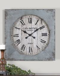 Giant Clocks by Uttermost Paron Square Wall Clock Wall Clocks Clocks And Squares