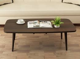 Japanese Style Desk Japanese Style Rectangle Coffee Table Dark Walnut Lazada Singapore