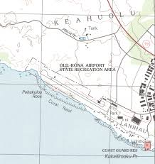Kahului Airport Map Kona Airport At Kailua Airfields In Hawai U0027i Research Guides At