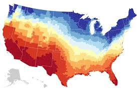 Climate Map Of South America by Map Where America U0027s Sunniest And Least Sunny Places Are The