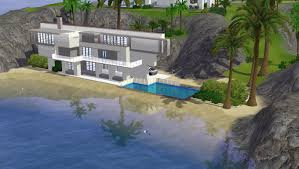 Home Design For The Sims 3 Beach House Designs For Sims 3