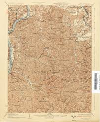 Map Of West Va Ohio Historical Topographic Maps Perry Castañeda Map Collection