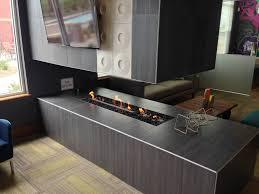 linear fireplace flare modern fireplace left corner 45