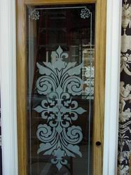 Glass Etching Designs For Kitchen Etched Glass Awards Windows Doors Custom Design Kitchens