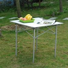 Camping Picnic Table Affordable Variety Outsunny Roll Up Top Aluminum Camp Portable