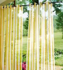 yellow outdoor sheer curtains ideas hanging outdoor sheer