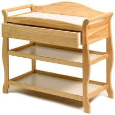 natural wood changing table amazon com la baby 3 shelf wooden changing table natural pertaining