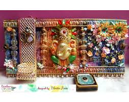 diwali home decorations welcome to rainbow craftykari blog ganesha diwali home decor