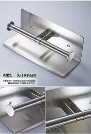 senior 304 stainless steel toilet paper holder mobile phone holder