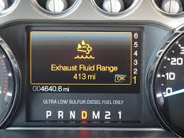 Ford Diesel Truck Exhaust Systems - diesel exhaust fluid not such a bad thing after all