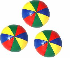 firetoys juggling balls set of 3 star beach balls