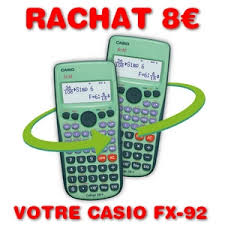 bureau vall bourgoin jallieu bon plan pour le rentrée rachat 8 de votre calculatrice casio fx 92