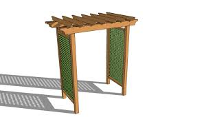 Pergola Free Plans by Grape Arbor Plans Free Myoutdoorplans Free Woodworking Plans