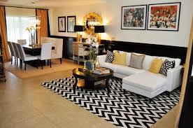 Black White And Gold Living Room by Black And White And Gold Living Room Decor Home Combo