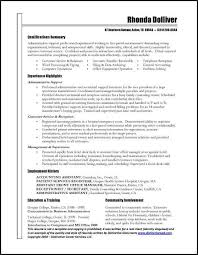 Administrative Resume Objective Examples by Distribution Clerk Resume