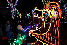 zoo lights at hogle zoo photos zoolights illuminate hogle zoo deseret news